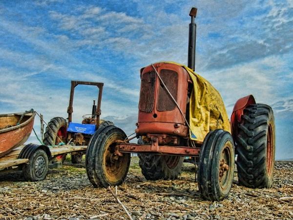 Shrimping Tractors by jonlonbla