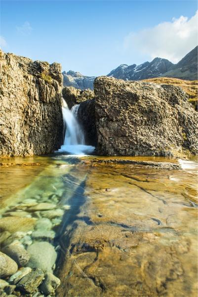 Sgurr A\'Fheadain Allt  Coir\' a\' Mhadaidh,Fairy Pools,Glen Brittle Isle of Skye by phil99