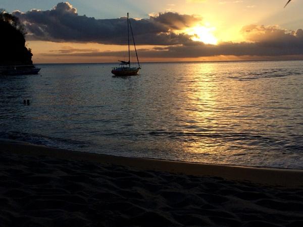 St Lucian Sunset sail by hippysnapper