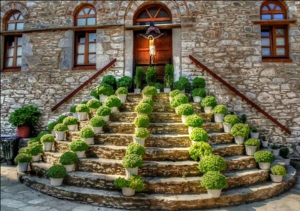 Greek Monastery by sweetpea62