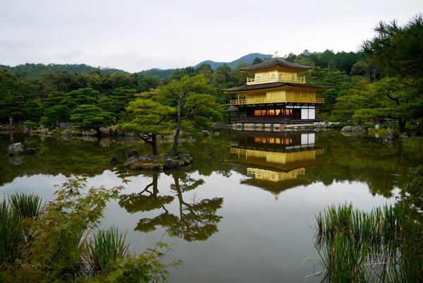 Kinkaku-ji (Golden Pavilion Temple) by RoderickTsang
