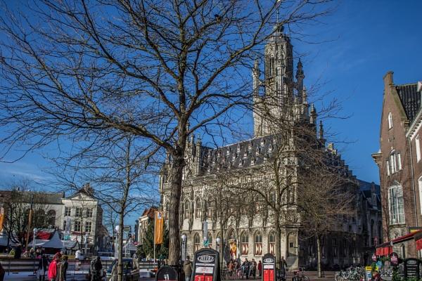 Town hall Middelburg by kuipje