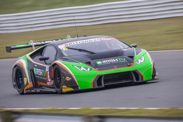 British GT Championship Lamborghini by matthewwheeler