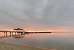 Redcliffe Pier Sunrise, Brisbane, Australia