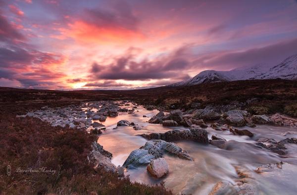 Sunrise over Glencoe by petra16