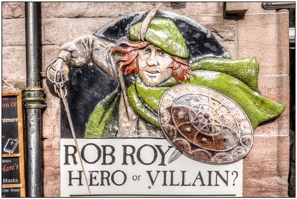 Hero or Villain? by TrevBatWCC