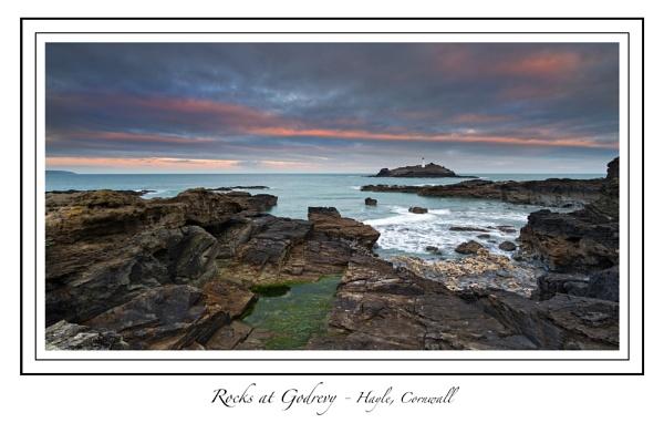 Rocks at Godrevy by steve_eb