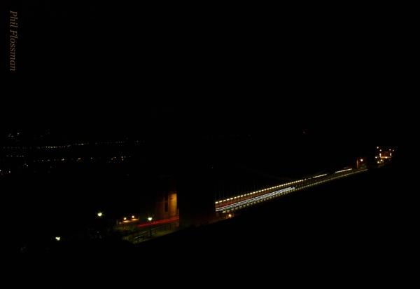 Suspension bridge observes Earth hour by gonedigital62
