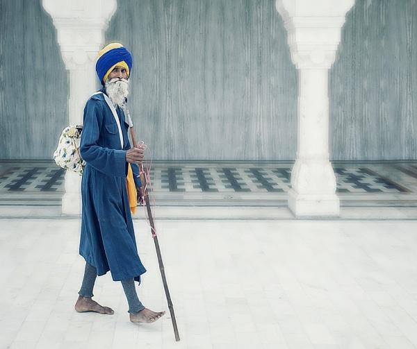 Sikh pilgrim by kenp666