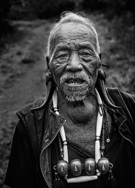 Head Hunter ( formerly) Nagaland, NE India by peterjones