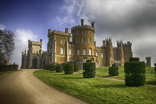 Belvoir Castle by Bravdo