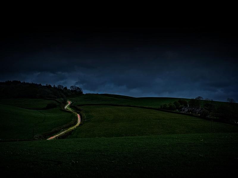 Dorset by night