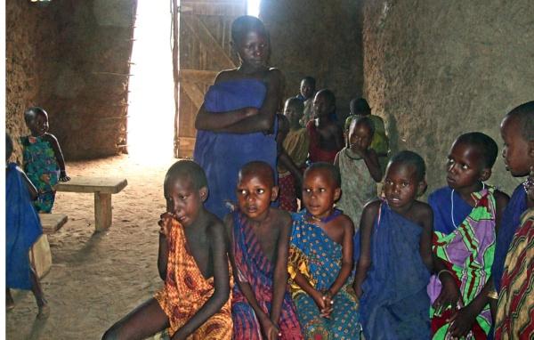 Massai Village school in Kenya by AH5310