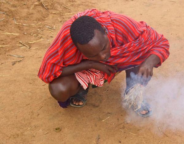 Massai Warrior Firestarter! by AH5310