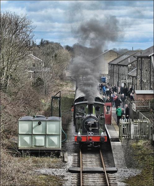 Wenslydale Railway by stocksbridge