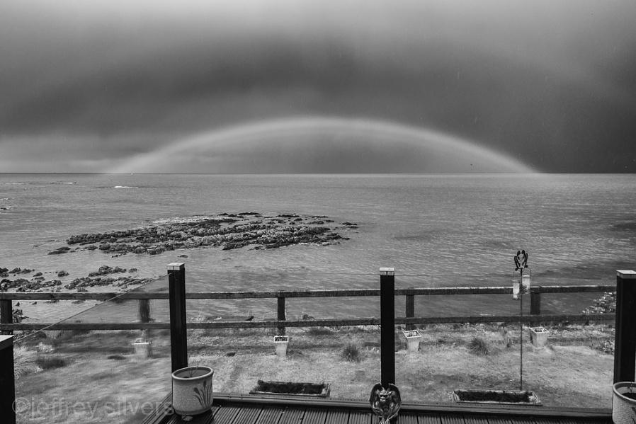 Silver Efex rainbow