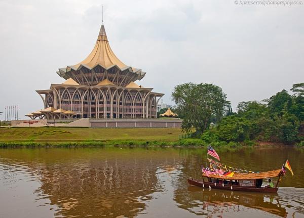 Kuching, Sarawak, Borneo, Malaysia by brian17302