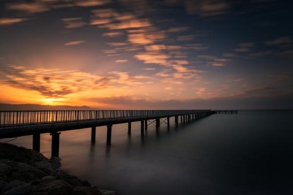 Sunset at limni by aeras
