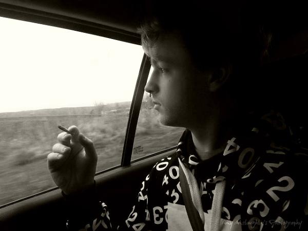 Driving home by littlemisschatterbox