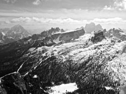 Dolomite landscape near Cortina d'Ampezzo