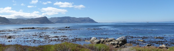 Boulders Beach by tractor
