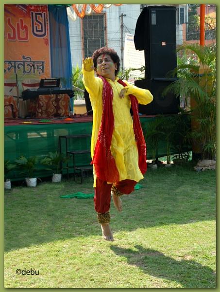 Kathak Male Dancer by debu