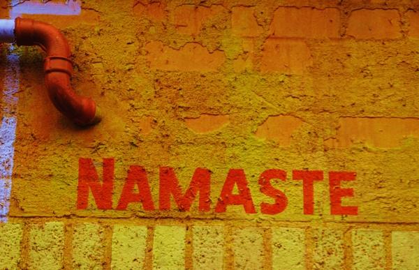 "\""Namaste\"" !! by Chinga"