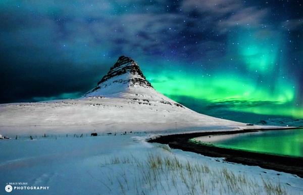 kirkjufell mountain by puma00065
