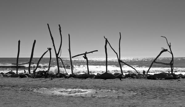 Hokitika Beach by NevJB