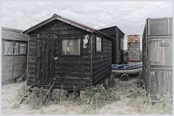 Fishermen`s Huts, Blyth River,Southwold by BigAlKabMan