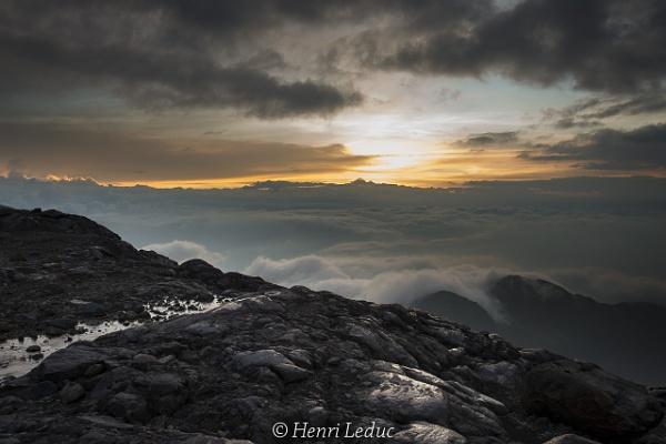 Sunset at 4790 m by macxymum