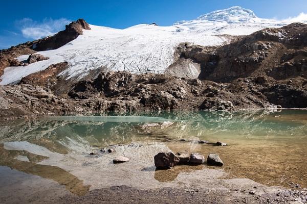 Mirrored Nevado Cayambe by macxymum