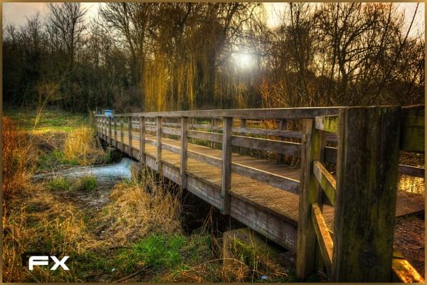 Little Wooden Bridge by FernandoJames