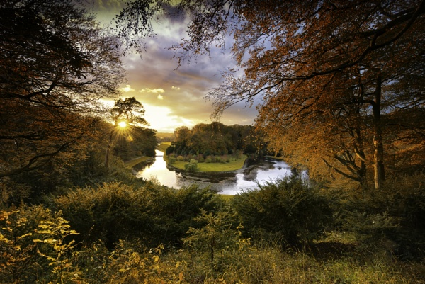 studley royal park north yorkshire by Lee100