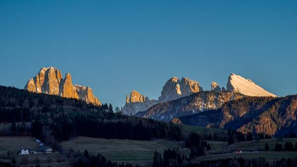 View of the Dolomites from Villanders by Phil_Bird