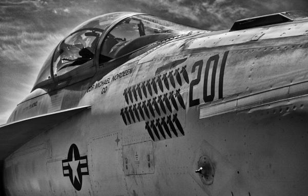 US Navy Jet Bomber by jbsaladino