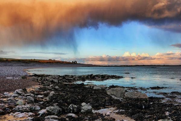 Moody Clouds near St Cyrus, Scotland by DanfromScotland