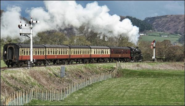 Llangollen Railway by stocksbridge