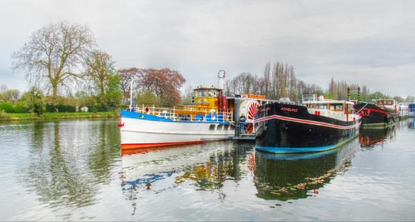 River Boats by micksurrey