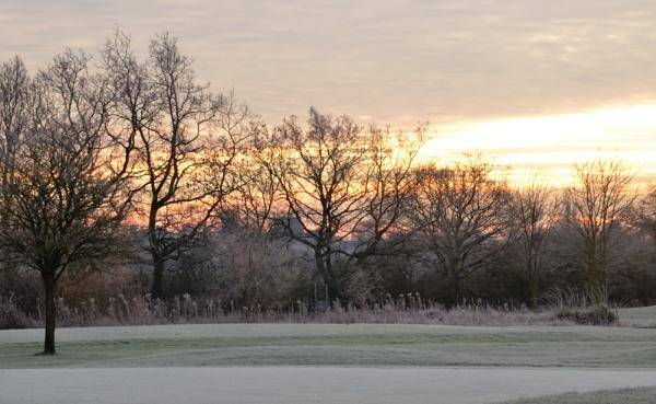 Sunrise golf by cdnikon