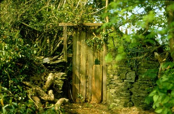 Secret Garden Gate by Bearpaw1