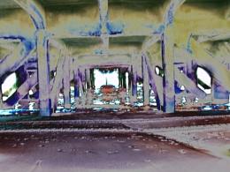 Photo : Pier view. Digitally Enhanced.