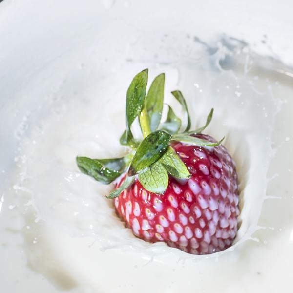 Strawberry Splash by Nodulespix