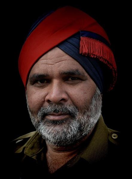 Punjabi officer by sawsengee
