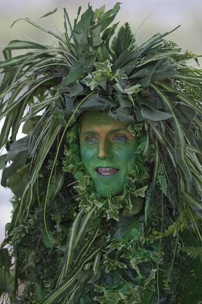 Green man by EddieDaisy