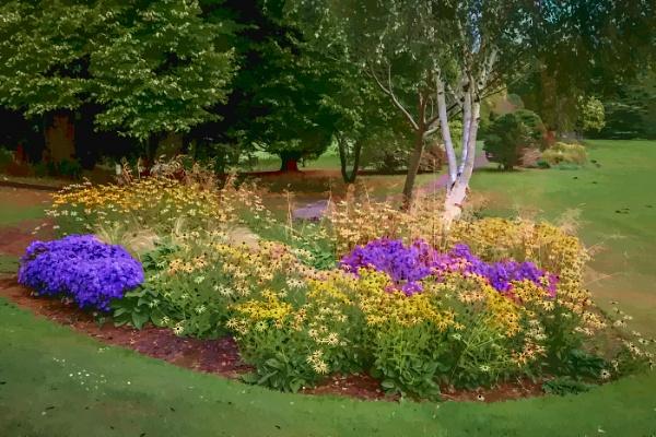 The Green Garden by MrDennis