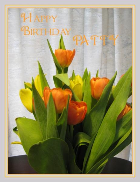 Happy Birthday Patty by Irishkate