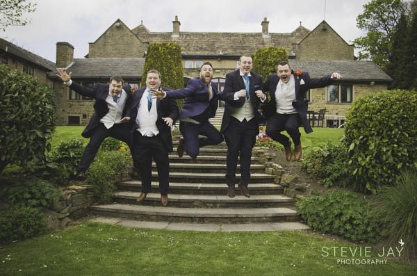 The Jumping Groomsmen by Steviefawcett