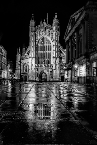 Bath Abbey by ptoshea