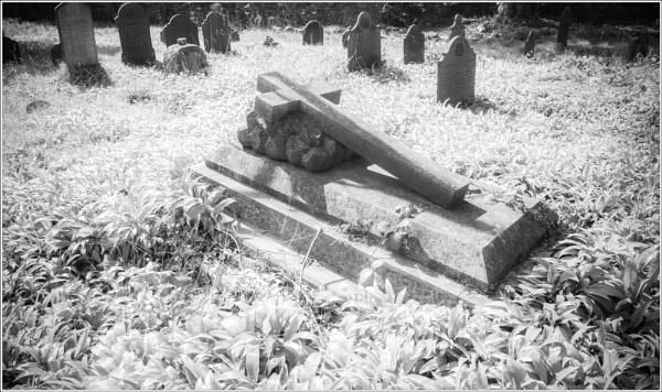 Stone cross in IR. by wynn469